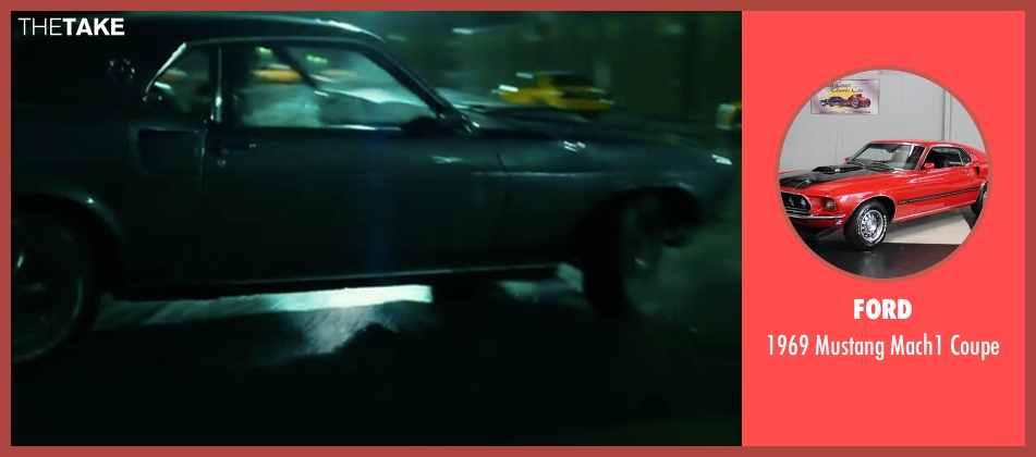 Ford coupe from John Wick: Chapter 2 seen with Keanu Reeves (John Wick)