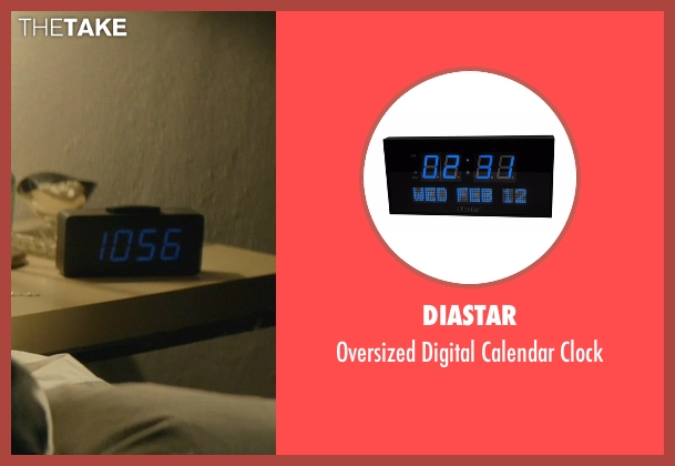 Diastar clock from John Wick seen with Keanu Reeves (John Wick)