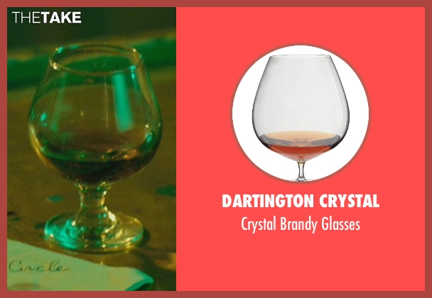 Dartington Crystal glasses from John Wick seen with Keanu Reeves (John Wick)