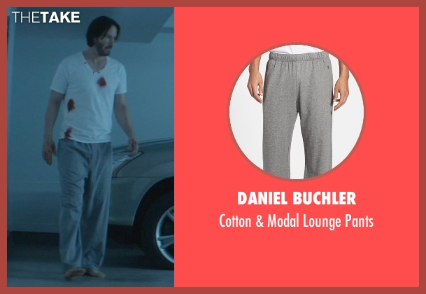 Daniel Buchler gray pants from John Wick seen with No Actor (John Wick)