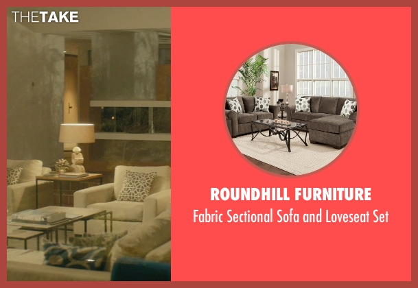 Roundhill Furniture set from John Wick seen with Keanu Reeves (John Wick)