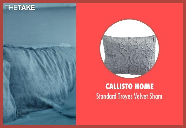 Callisto Home sham from John Wick seen with No Actor (John Wick)