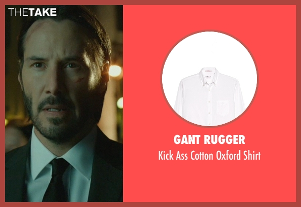 Gant Rugger white shirt from John Wick seen with No Actor (John Wick)