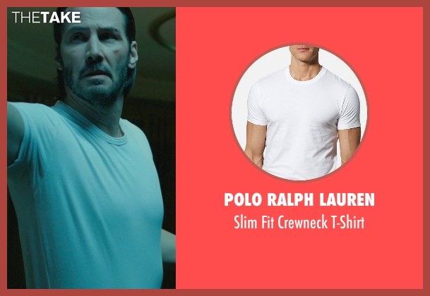 Polo Ralph Lauren white t-shirt from John Wick seen with Keanu Reeves (John Wick)