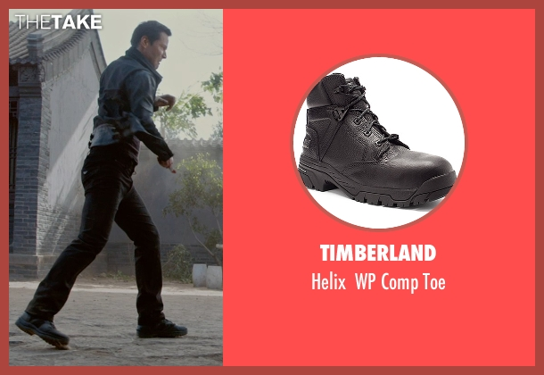 Timberland black toe from Man of Tai Chi seen with Keanu Reeves (Donaka Mark)