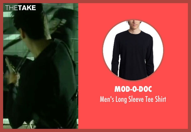 Mod-O-Doc black shirt from The Matrix seen with Keanu Reeves (Neo)