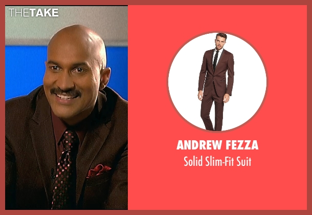 Andrew Fezza brown suit from Horrible Bosses 2 seen with Keegan-Michael Key (Mike)