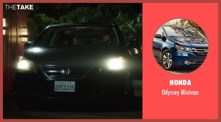 Honda minivan from Keanu seen with Keegan-Michael Key (Clarence Goobril)
