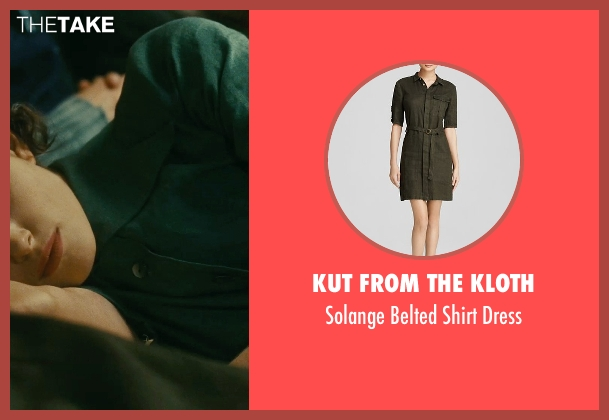 Kut from the Kloth green dress from Atonement seen with Keira Knightley (Cecilia Tallis)