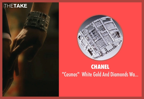 Chanel silver watch from Atonement seen with Keira Knightley (Cecilia Tallis)