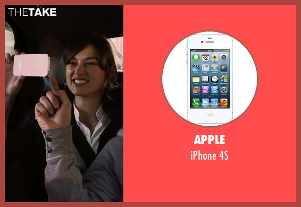 Apple 4s from Begin Again seen with Keira Knightley (Gretta)