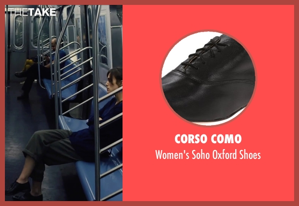 Corso Como black shoes from Begin Again seen with Keira Knightley (Gretta)