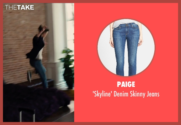 Paige blue jeans from Begin Again seen with Keira Knightley (Gretta)