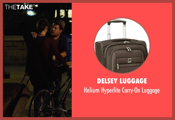 Delsey Luggage brown luggage from Begin Again seen with Keira Knightley (Gretta)
