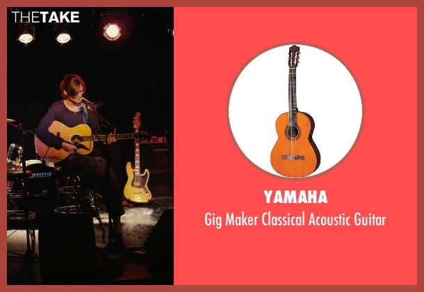 Yamaha guitar from Begin Again seen with Keira Knightley (Gretta)
