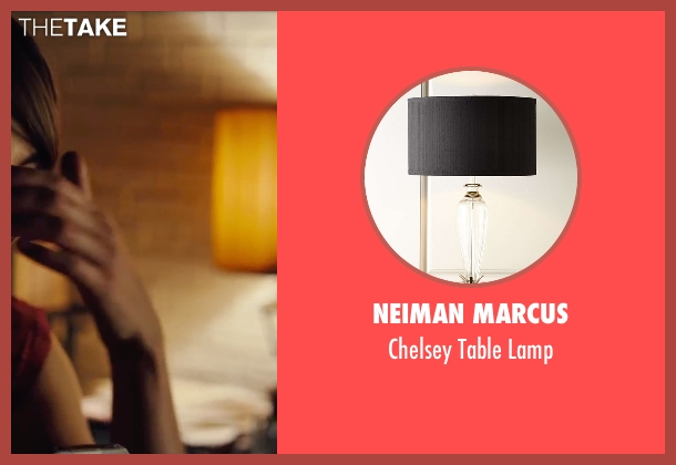 Neiman Marcus lamp from Begin Again seen with Keira Knightley (Gretta)