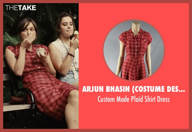 Arjun Bhasin (Costume Designer) red dress from Begin Again seen with Keira Knightley (Gretta)