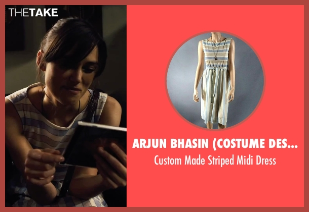 Arjun Bhasin (Costume Designer) white dress from Begin Again seen with Keira Knightley (Gretta)