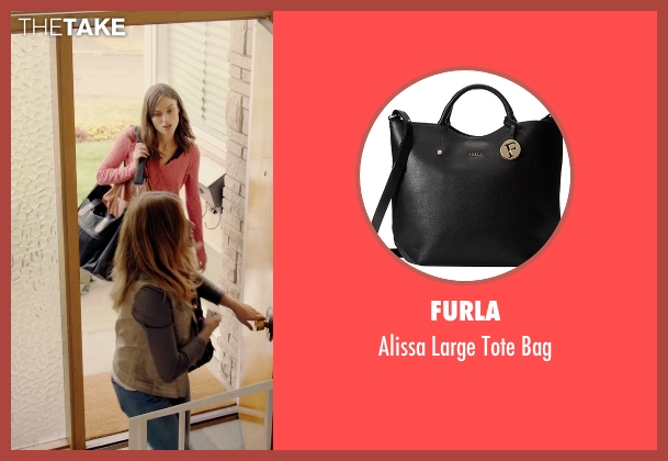 Furla black bag from Laggies seen with Keira Knightley (Megan)