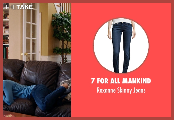 7 For All Mankind blue jeans from Laggies seen with Keira Knightley (Megan)
