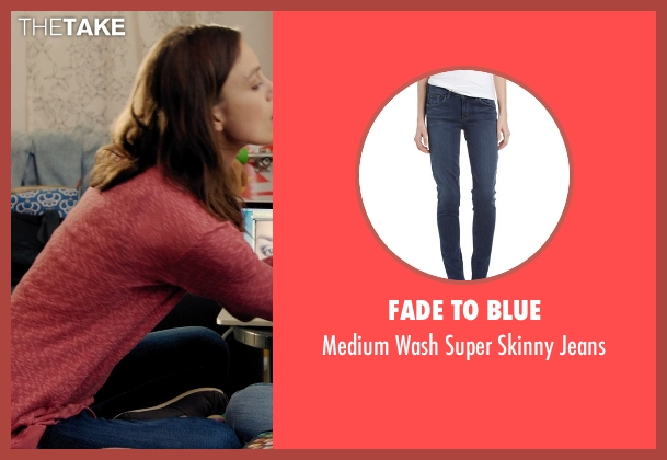 Fade to Blue blue jeans from Laggies seen with Keira Knightley (Megan)