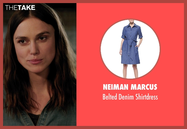 Neiman Marcus	 blue shirtdress from Laggies seen with Keira Knightley (Megan)