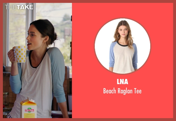 LNA blue tee from Laggies seen with Keira Knightley (Megan)
