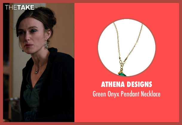 Athena Designs green necklace from Laggies seen with Keira Knightley (Megan)