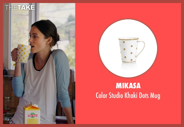 Mikasa mug from Laggies seen with Keira Knightley (Megan)