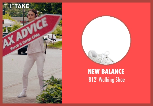 New Balance white shoe from Laggies seen with Keira Knightley (Megan)