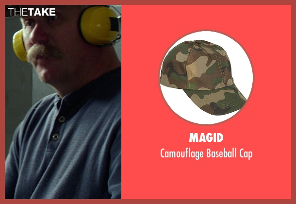 Magid cap from Ride Along seen with Keith Walters (Shotgun Shooter)