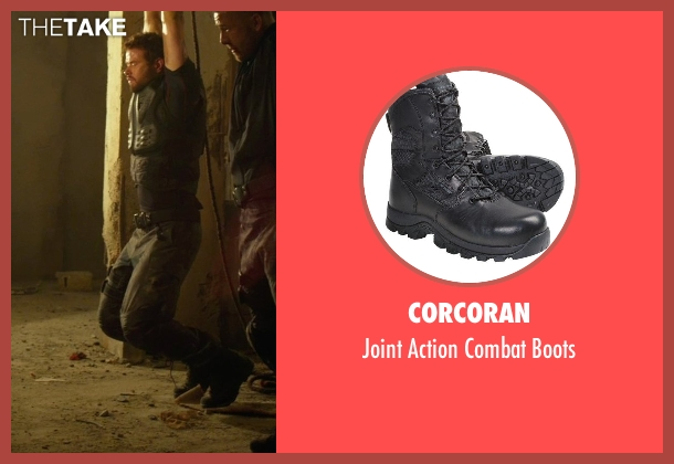 Corcoran black boots from The Expendables 3 seen with Kellan Lutz (Smilee)