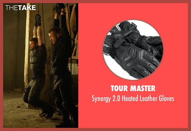 Tour Master gloves from The Expendables 3 seen with Kellan Lutz (Smilee)