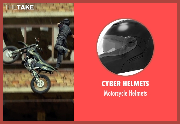 Cyber Helmets helmets from The Expendables 3 seen with Kellan Lutz (Smilee)
