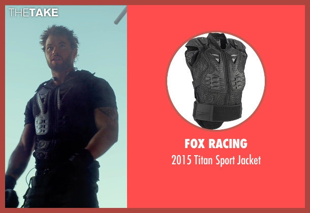 Fox Racing jacket from The Expendables 3 seen with Kellan Lutz (Smilee)