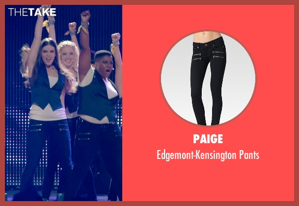 Paige black pants from Pitch Perfect 2 seen with Kelley Jakle (Jessica)