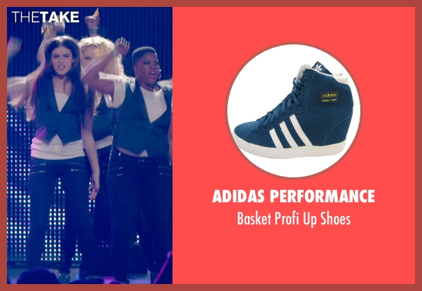 Adidas Performance blue shoes from Pitch Perfect 2 seen with Kelley Jakle (Jessica)