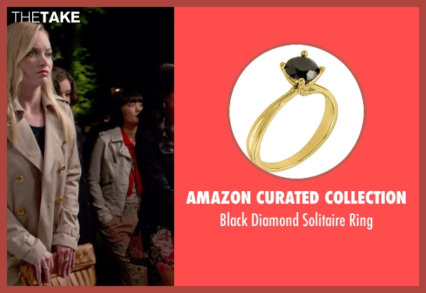 Amazon Curated Collection gold ring from Pitch Perfect 2 seen with Kelley Jakle (Jessica)