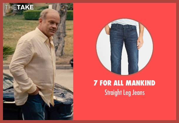 7 for all Mankind blue jeans from Entourage seen with Kelsey Grammer (Unknown Character)