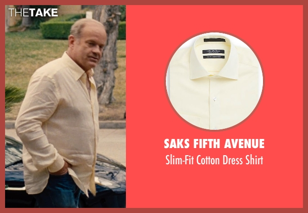 Saks Fifth Avenue yellow shirt from Entourage seen with Kelsey Grammer (Unknown Character)