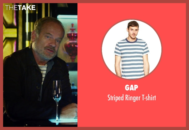 Gap blue t-shirt from The Expendables 3 seen with Kelsey Grammer (Bonaparte)