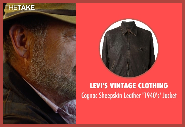Levi's Vintage Clothing brown jacket from The Expendables 3 seen with Kelsey Grammer (Bonaparte)