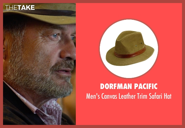 Dorfman Pacific hat from The Expendables 3 seen with Kelsey Grammer (Bonaparte)