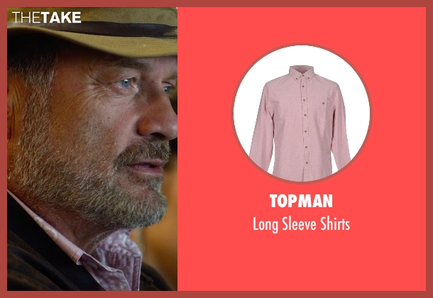 Topman pink shirts from The Expendables 3 seen with Kelsey Grammer (Bonaparte)