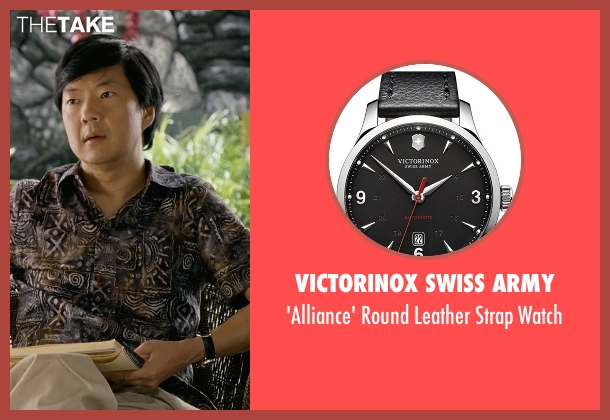 Victorinox Swiss Army black watch from Couple's Retreat seen with Ken Jeong (Dr. Paula Agard)
