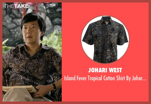 Johari West black west from Couple's Retreat seen with Ken Jeong (Dr. Paula Agard)