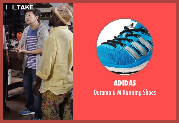 Adidas blue shoes from Ride Along 2 seen with Ken Jeong (A.J.)