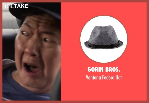 Gorin Bros. gray hat from Ride Along 2 seen with Ken Jeong (A.J.)