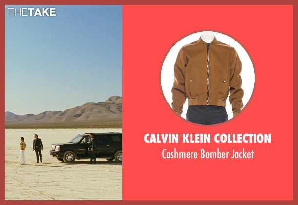 Calvin Klein Collection brown jacket from The Hangover seen with Ken Jeong (Mr. Chow)