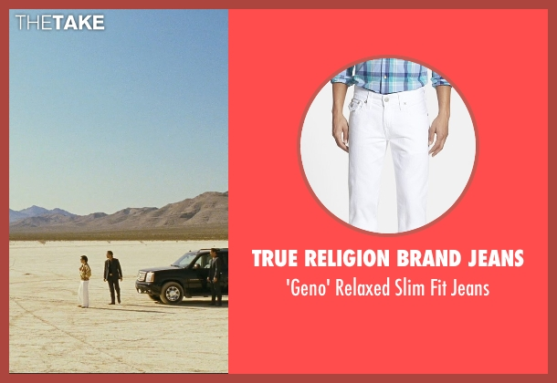 True Religion Brand Jeans white jeans from The Hangover seen with Ken Jeong (Mr. Chow)